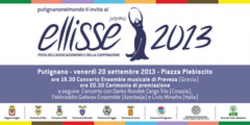 Premio Ellisse 2013: giuria al lavoro, la premiazione il 20 settembre a Putignano