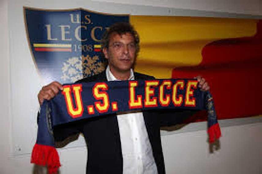 """Lecce, Moriero: """"Sudore e attaccamento"""""""