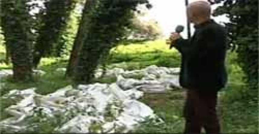 Pineta di Terzigno invasa dai rifiuti. Area protetta.... da Striscia la Notizia