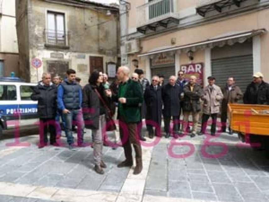 Luca Abete torna a Mormanno dai cittadini lasciati al proprio destino