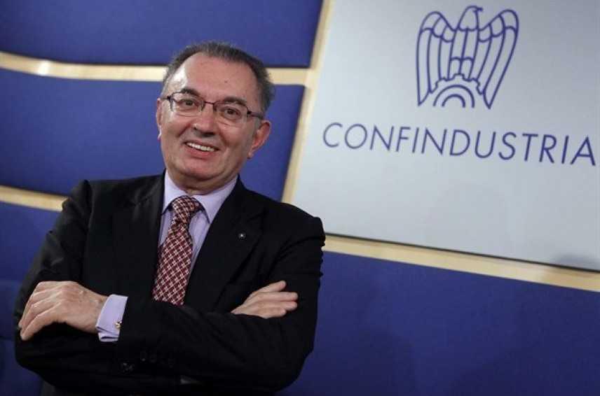 """Il presidente di Confindustria, Giorgio Squinzi: """"Economia in ripresa nel 2015"""""""