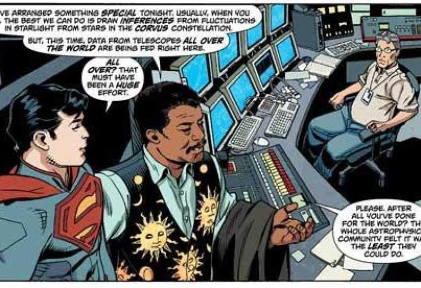 Trovato il pianeta di Superman, Kripton!