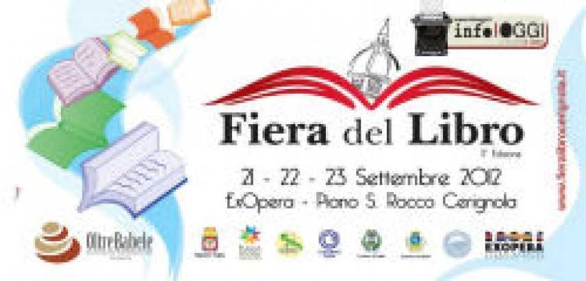 III Fiera del libro, dell'editoria e del giornalismo città di Cerignola