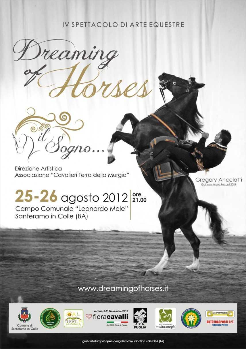 """IV spettacolo di arte equestre """"Dreaming Of Horses...Il Sogno"""""""