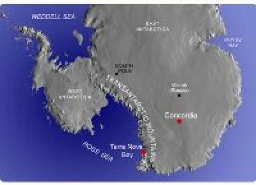 Tre sardi alla scoperta dell'Antartide