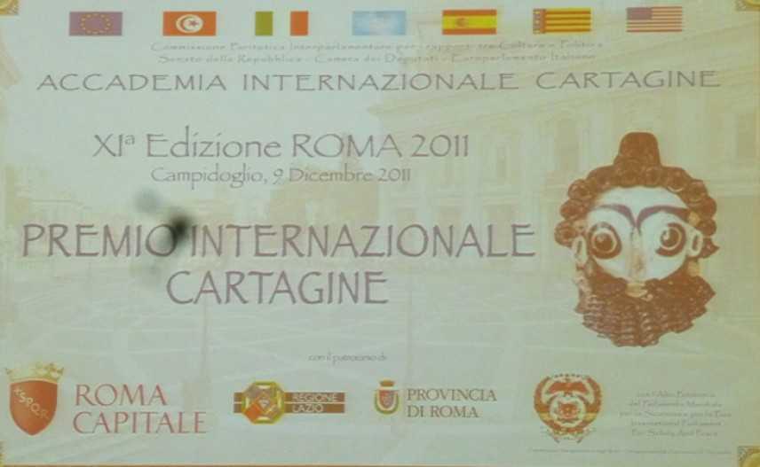 L'XI Edizione del premio Cartagine