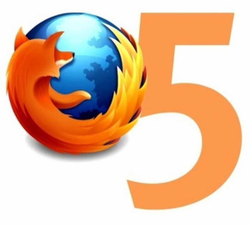 Firefox si rinnova: ecco la versione 5.0