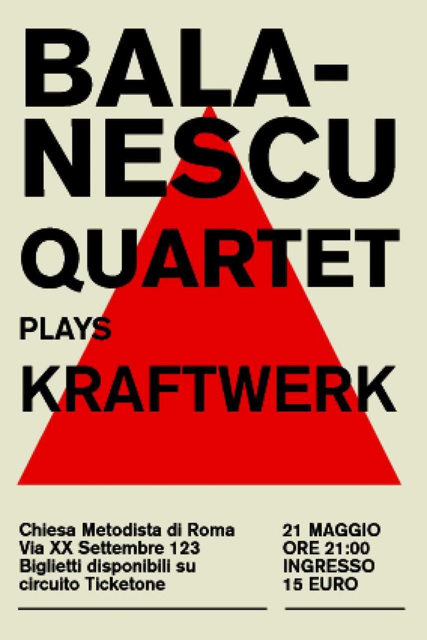 Balanescu Quartet plays Kraftwerk: Roma  21 Maggio 2011 Chiesa Evangelica Metodista