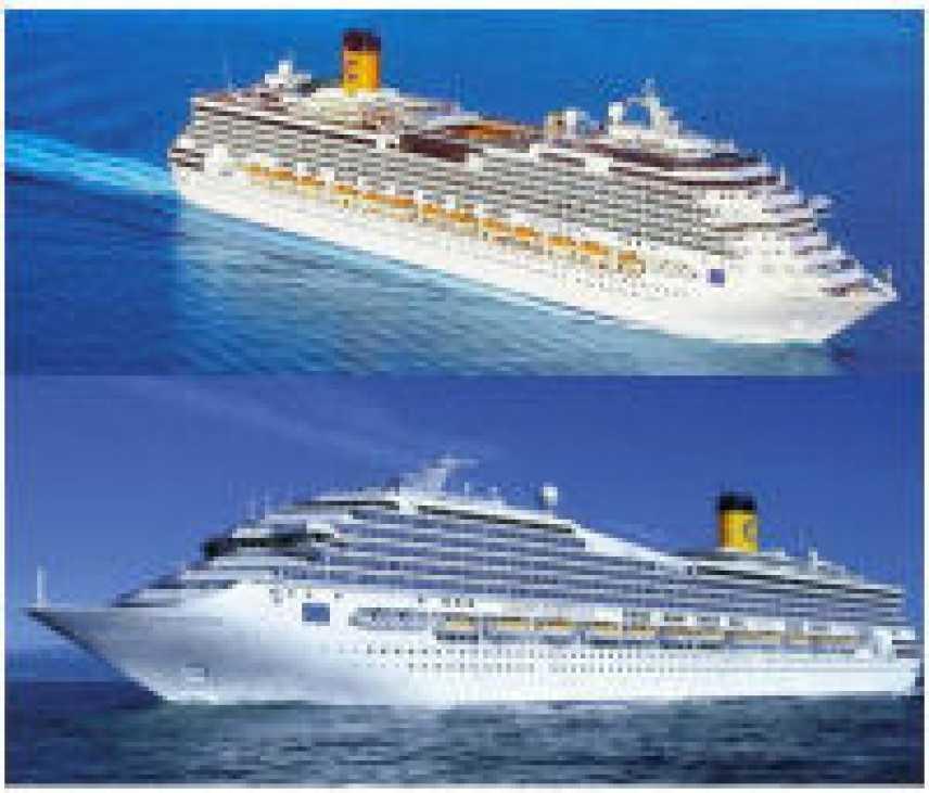 Lavoro: Costa Crociere assume 600 persone per nuove navi