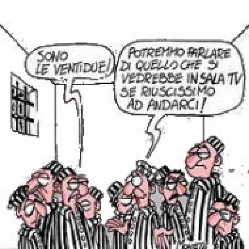 Super affollamento delle carceri, se il detenuto si