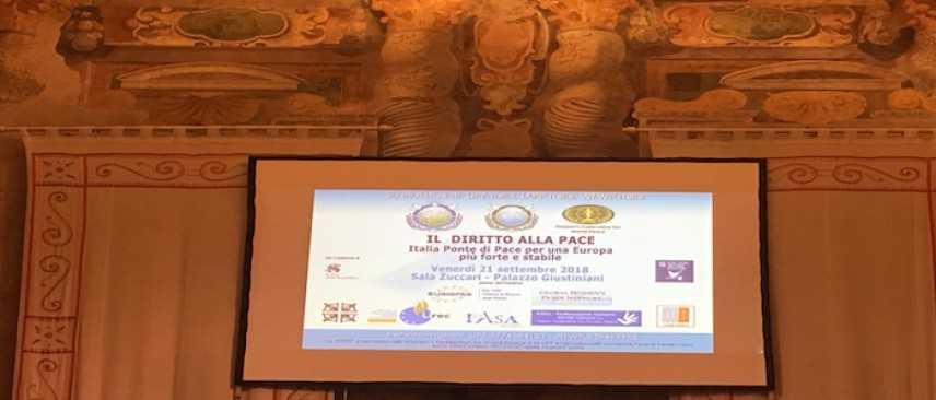 Roma, Convegno per la Giornata Internazionale della Pace
