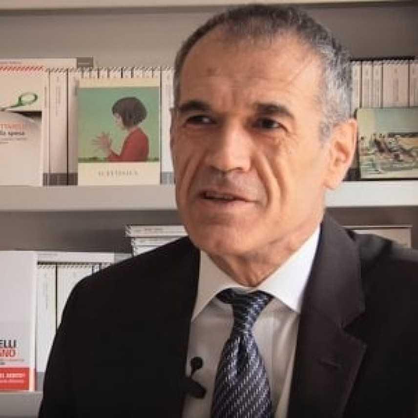 Cottarelli: difficile ridurre deficit inserendo flat tax, riforma pensioni e reddito di cittadinanza