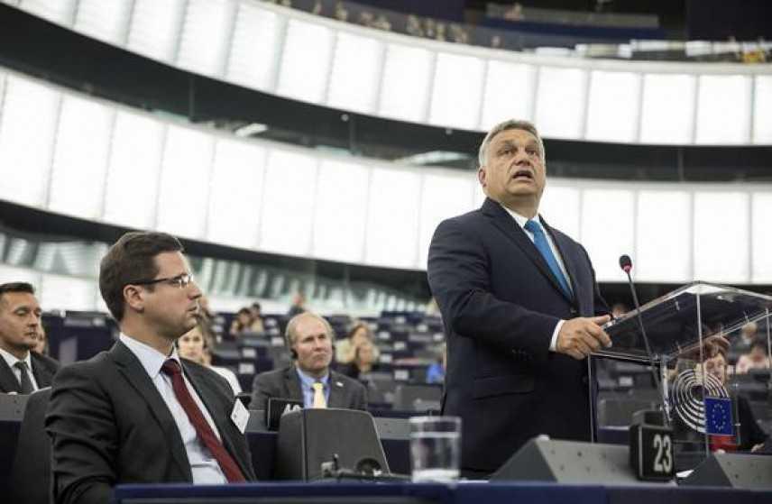 """Orban: """"L'Ungheria fermerà l'immigrazione da sola"""""""