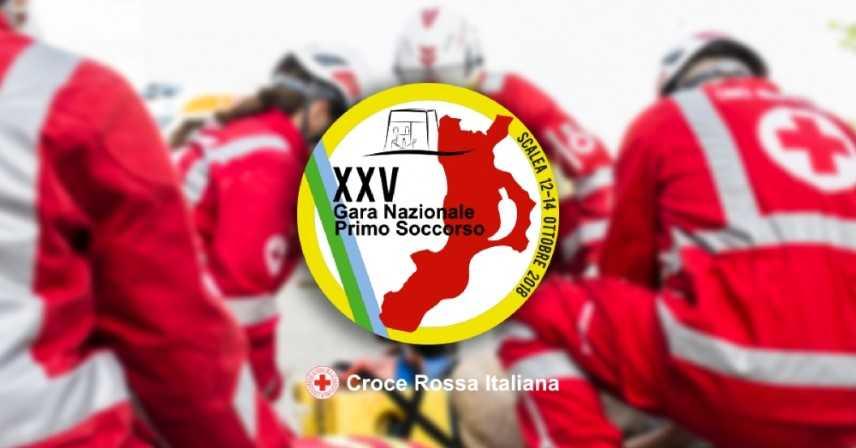 Croce Rossa Italiana: XXV Gara Nazionale di Primo Soccorso Scalea dal 12 al 14 ottobre 2018