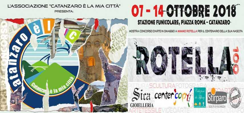 'Rotella 100' al via la mostra concorso voluta da Catanzaro è la mia città