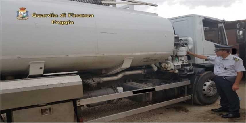Foggia, contrabbando di carburante, sequestrati distributori benzina, 2 arresti