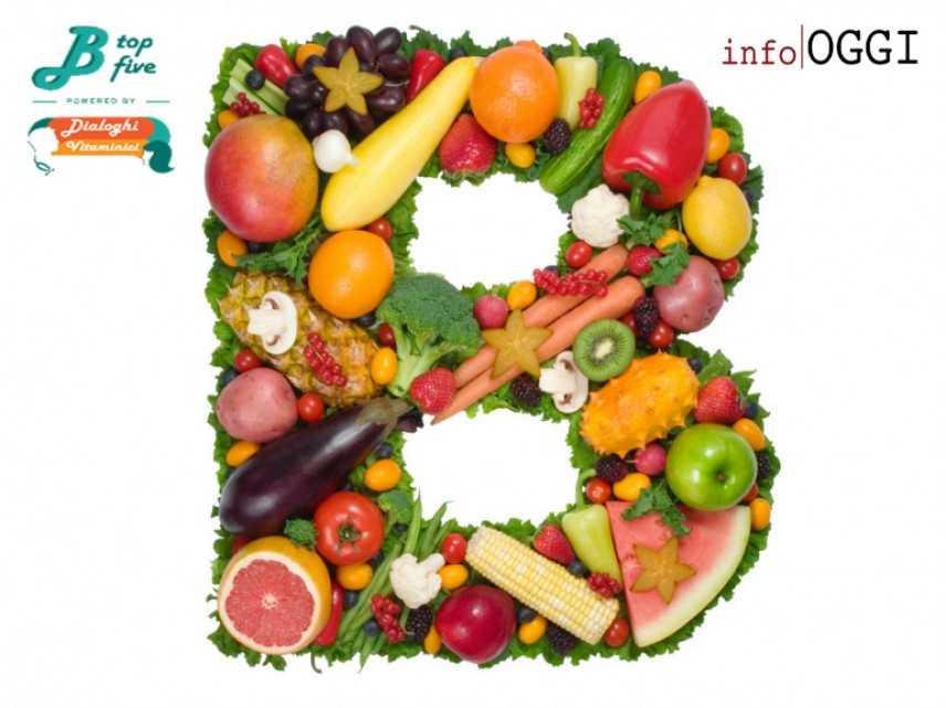 """Arrivano i """"B Top Five"""": i 5 usi più appropriati delle vitamine del gruppo B"""