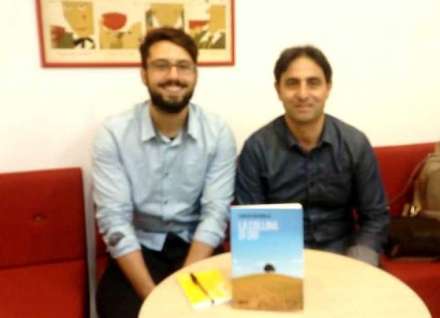La collina di Dio, intervista all'autore Fabrizio Massimilla