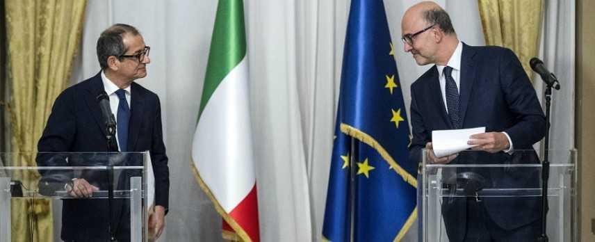 """L'Italia risponde all'Ue. Tria: """"Decisione difficile, ma necessaria"""""""