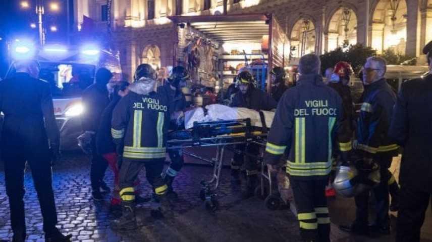 Roma: crollo di una scala mobile, nella stazione Repubblica, della metropolitana