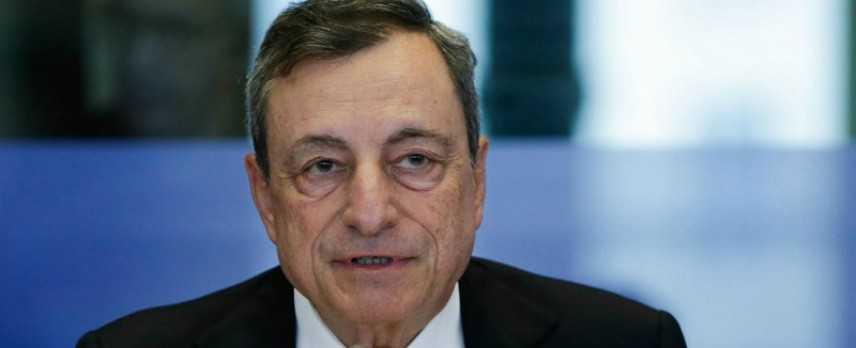"""Draghi: """"Finanziare i deficit non è nel nostro mandato"""""""