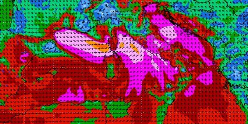 Meteo: tra domenica e lunedì piogge e temporali, previsioni su Nord, Centro, Sud e Isole