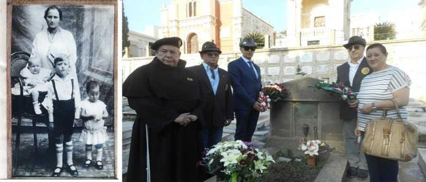 A Milazzo (Me) Sicilia la Croce Nera d'Austria e gli Alpini nel Centenario della Grande Guerra