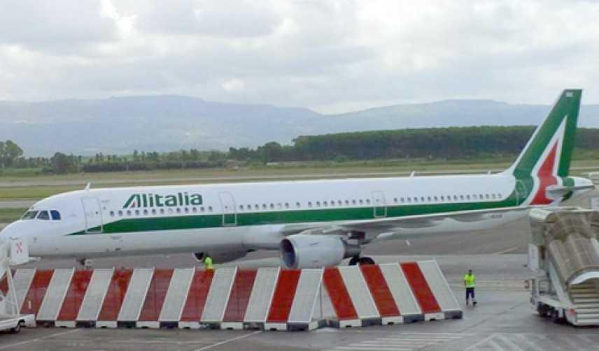"""Aereoporto Lamezia, """"avaria motore""""  paura su volo Alitalia, intervento dei VVF"""