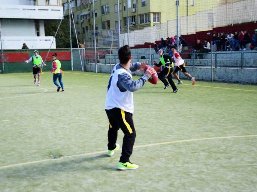 Crusaders Cagliari: Flag Football ufficialmente  nelle scuole per sfociare nei Giochi Studenteschi