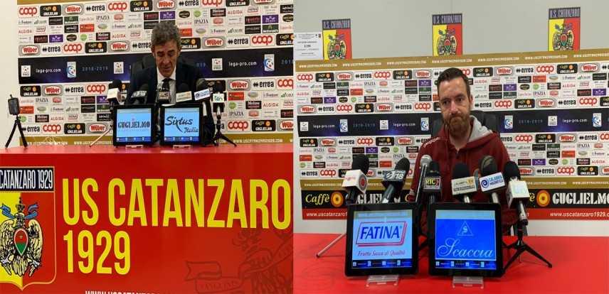 Calcio. Catanzaro-Rieti 3-0. Ecco I commenti di Auteri e Chéu (Highlights)