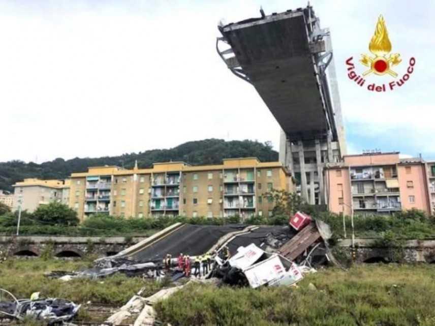 Ponte Genova: intesa Cdp-Fincantieri-Fs-Snam-Terna a sostegno cittá