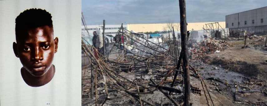 """Incendio: giovane muore carbonizzato in baraccopoli """"dichiarazione di Oliverio"""""""