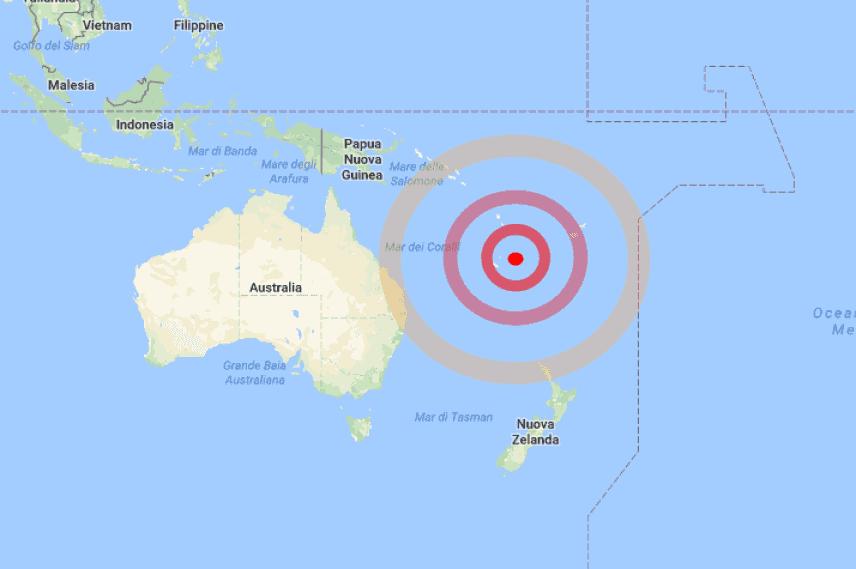 Nuova Caledonia, allarme tsunami dopo terremoto: evacuate zone costiere