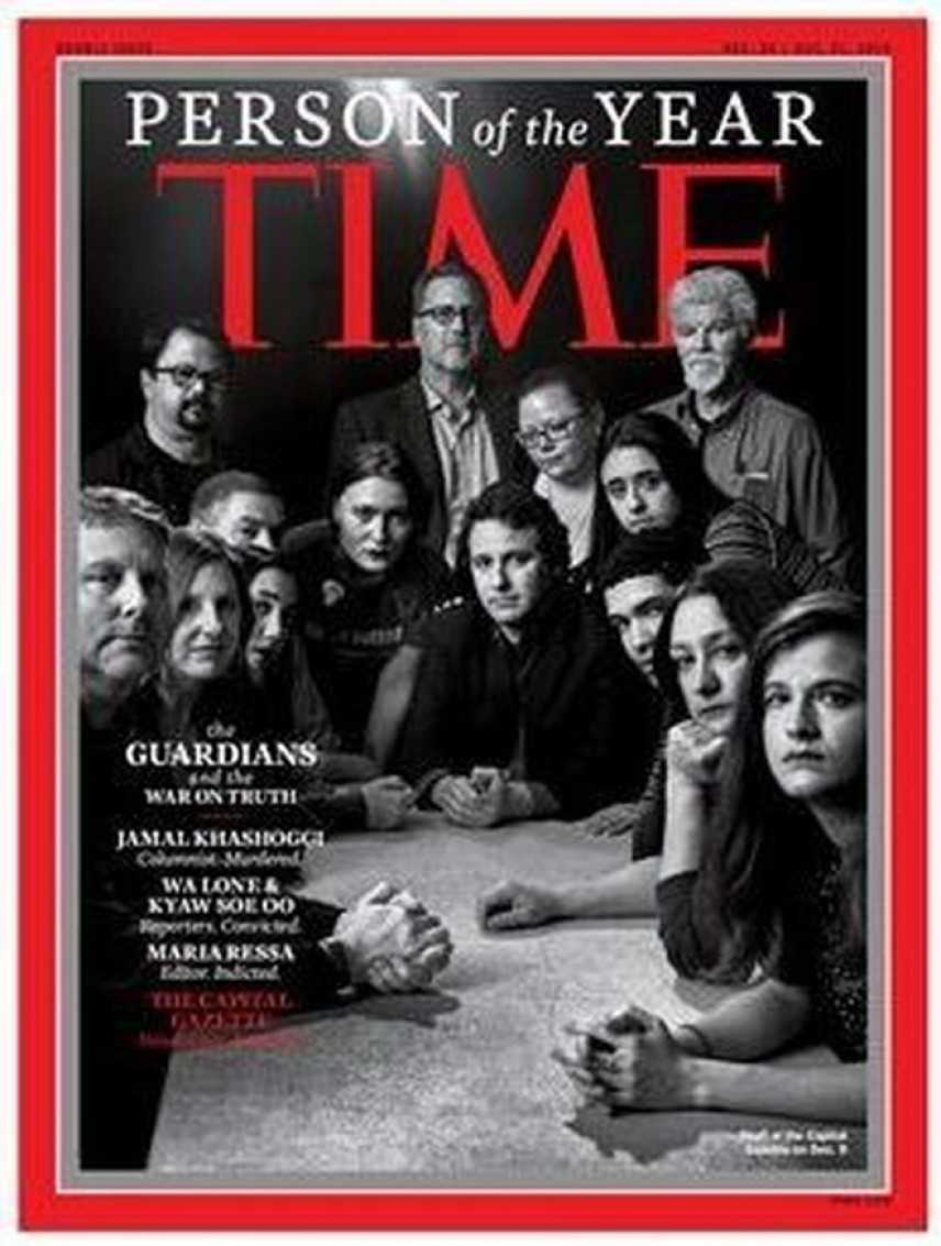"""I """"Guardiani"""" della vera informazione Persone dell'Anno"""