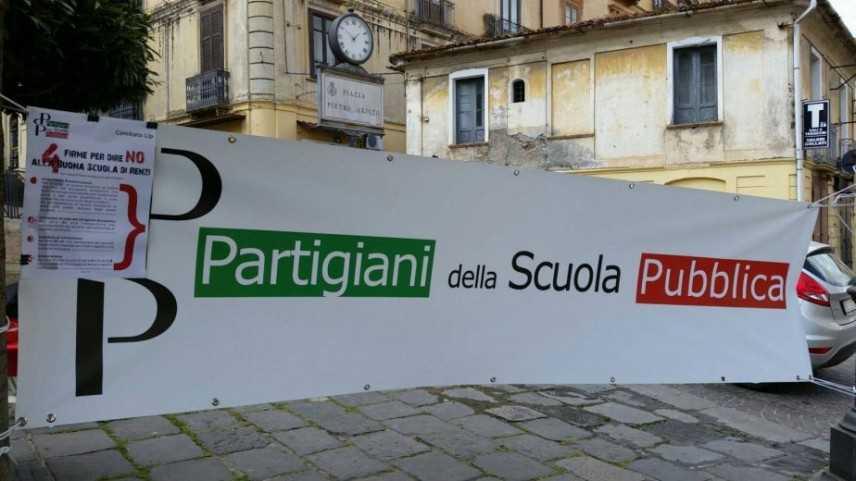 I Partigiani della Scuola Pubblica denunciano l'ennesimo caso di cattiva gestione