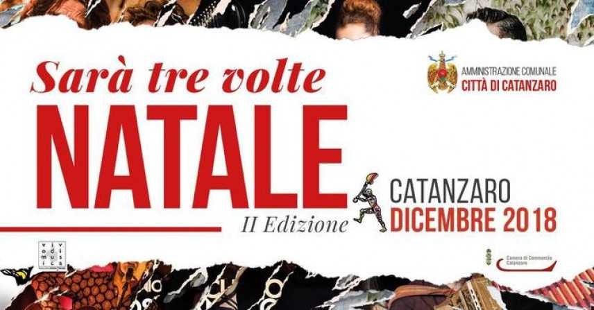 """Catanzaro. """"Sarà tre volte Natale"""" Isola pedonale su corso Mazzini giorno 15-16 dicembre"""