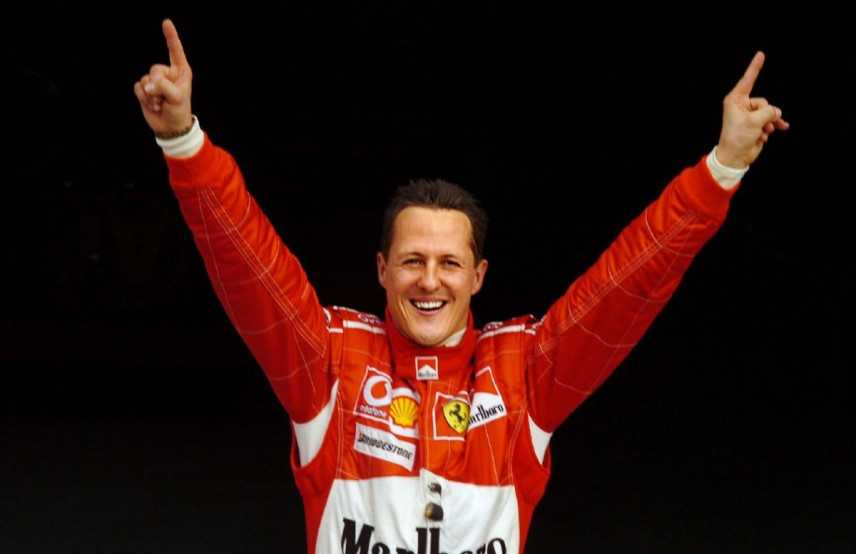 Schumacher: media, migliora e non e' piu' attaccato a macchinari