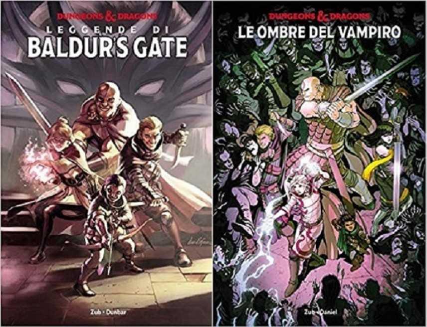 Due splendi volumi Panini per il fantasy D&D