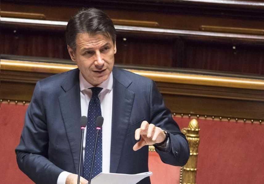 Manovra economica, ll Presidente Conte, ha reso al Senato una informativa sulla manovra economica
