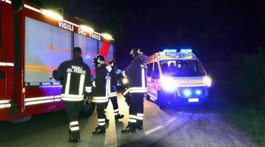 Tragico incendio in una casa nell'Aretino, morti 2 anziani intervento dei VVF