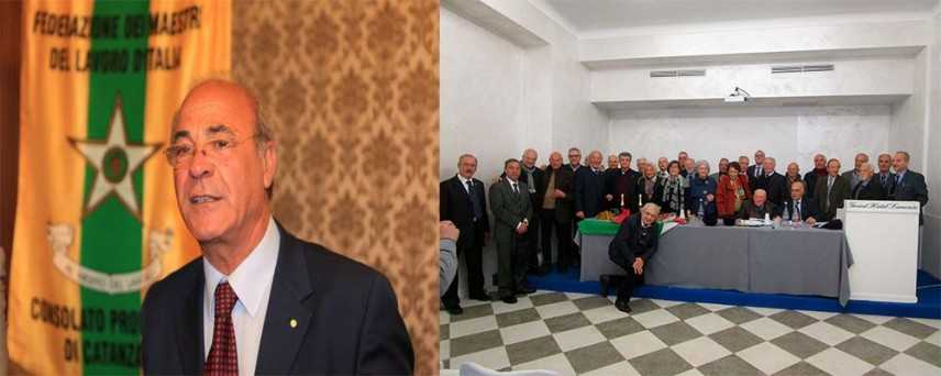 Francesco Saverio Capria confermato all'unanimità alla guida del Consolato regionale dei Maestri del