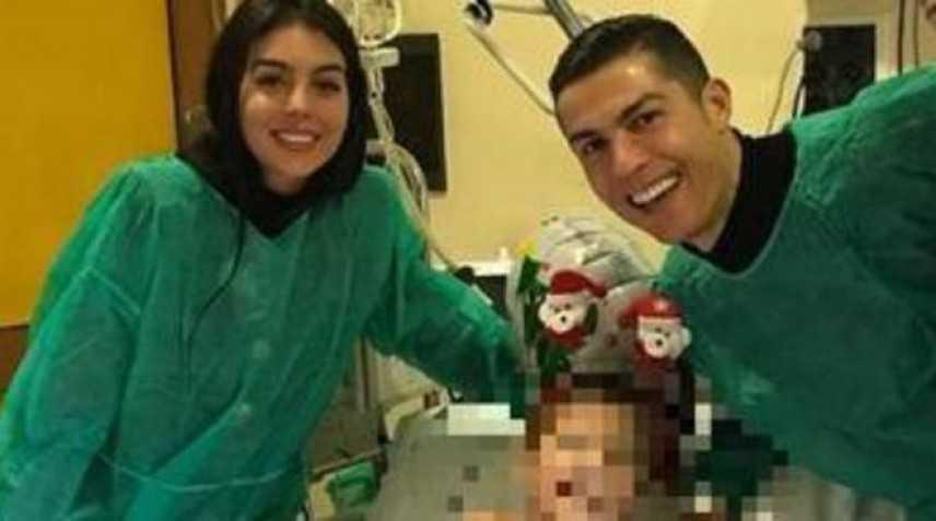 """Bimbo leucemico chiama CR7, """"venga a regalarci un sorriso per Natale"""""""