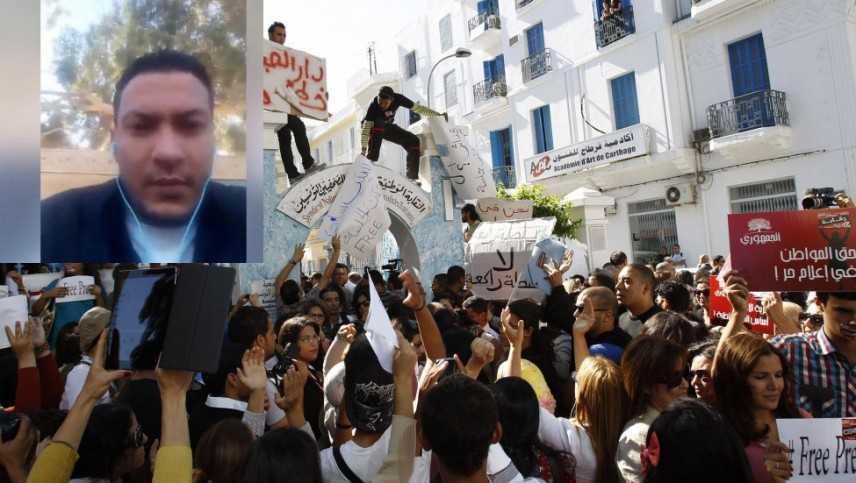 Tunisia: giornalista si da' fuoco per protesta a Kasserine, morto