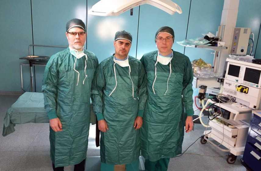 Primo intervento in Calabria di pneumologia interventistica con la tecnica della tunnellizzazione