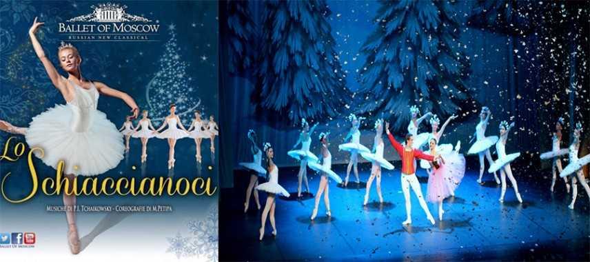 Teatro Verdi di Salerno Moscow Classical Russian Ballet Presenta Lo schiaccianoci