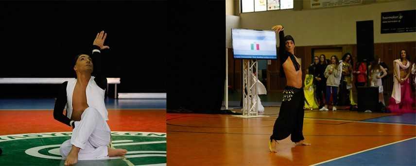 FIDS. È il catanzarese Fabio Borelli il campione Europeo e di Coppa del mondo di Danze Orientali