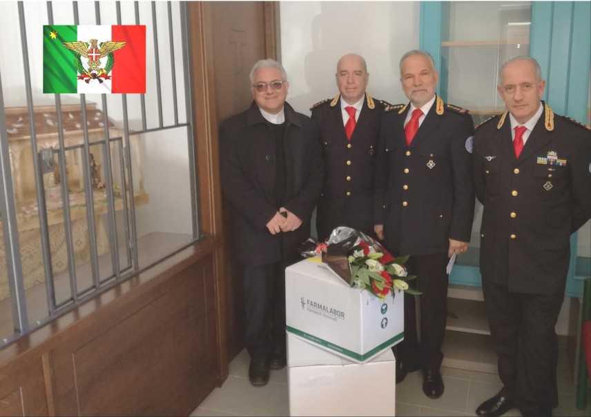 Donazioni alle Clarisse di Conflenti da parte  dei Corpi Sanitari Internazionali Calabria