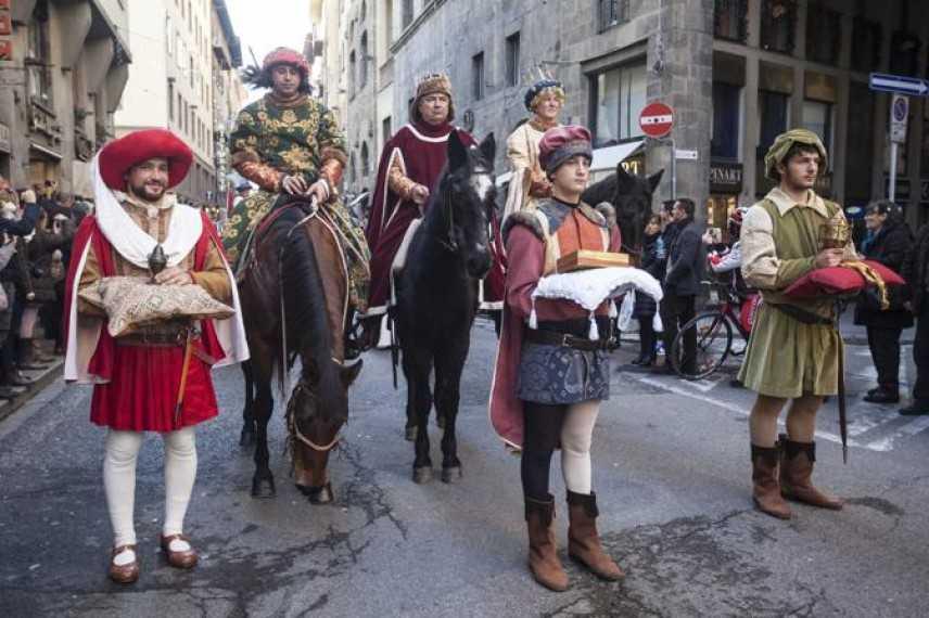 Epifania: Firenze rievoca Cavalcata dei Magi. Il 6 gennaio corteo fino al Duomo di decine di figuran