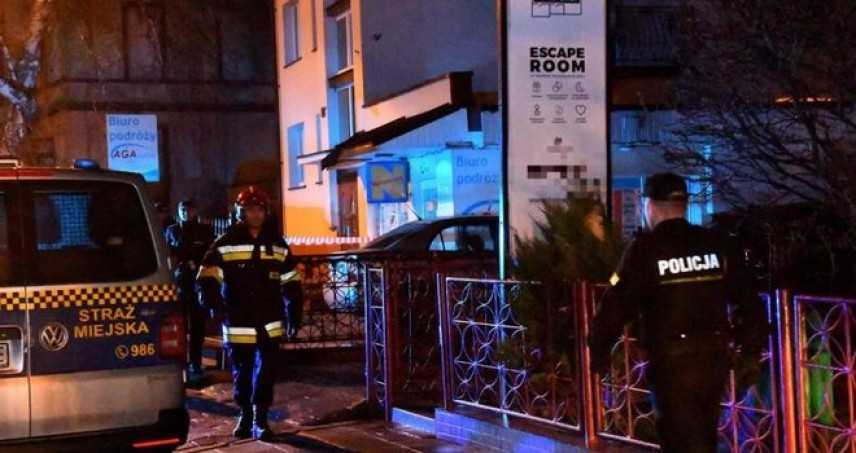 Polonia, incendio in una escape room: morte cinque ragazze di 15 anni