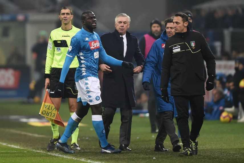 Calcio: Napoli conferma stop alla gara in caso di cori razzisti